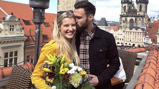 Jitka Nováčková s partnerem Timem
