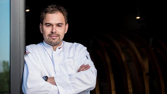Filip Sailer není jen kuchař.