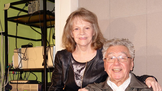 Josef Zíma a Eva Pilarová, kolegové z Evergreen Tour