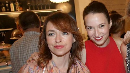 Tatiana Vilhelmová a Berenika Kohoutová spolu vychází velmi dobře.