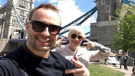 Marek s Terezou si užili víkend v Londýně.
