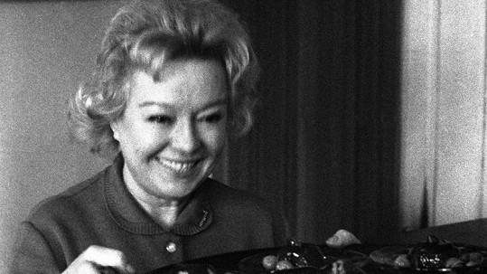 Věra Ferbasová v 60. letech