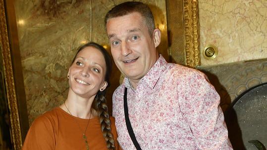 Vladimír Hron s manželkou tvoří stále šťastný pár.