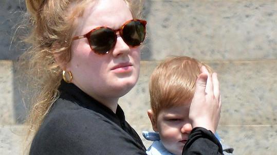 Adele se synem Angelem