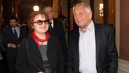 Libuška Šafránková a Jiří Menzel