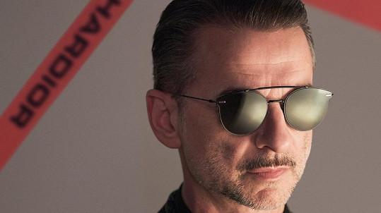 Frontman Depeche Mode Dave Gahan je tváří kampaně Dior Homme 2017.