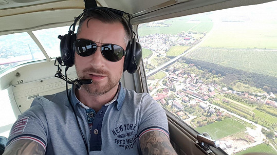 Petr Vágner chce létat.