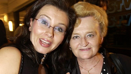 Dana Morávková s maminkou