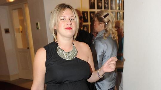 Tereza Černochová za měsíc porodí první dítě.