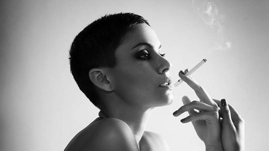 Vlaďka Erbová má s kouřením utrum.