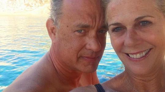 Tom a Rita se podělili o své štěstí.