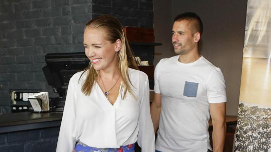 Lucie Vondráčková a Tomáš Plekanec se rozvádějí.