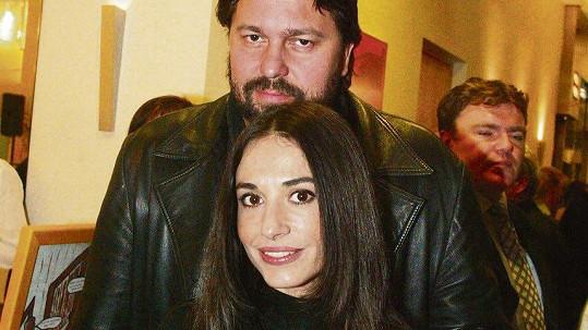 Jiří Pomeje a jeho první manželka Michaela Kuklová