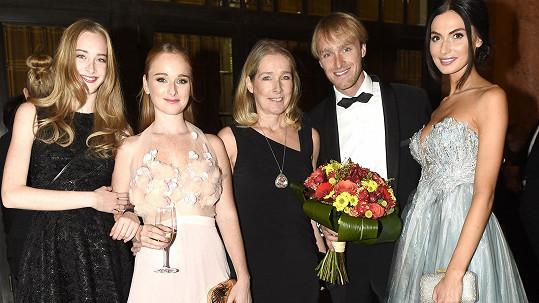 Show Blanky Matragi přišla zhlédnout velká část rodiny Vágnerových.