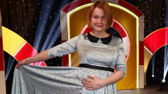Marie Doležalová čeká první dítě.
