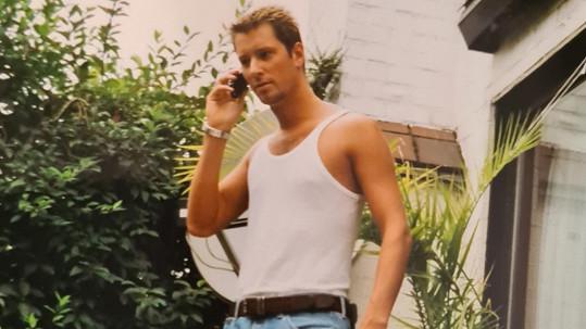 Petr Vágner na snímku, kde je mu 23 let.
