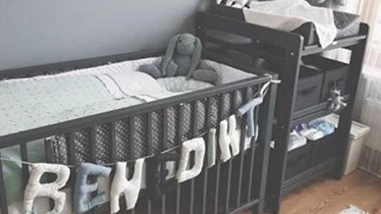 Takhle vypadá pokojíček malého Benedikta.