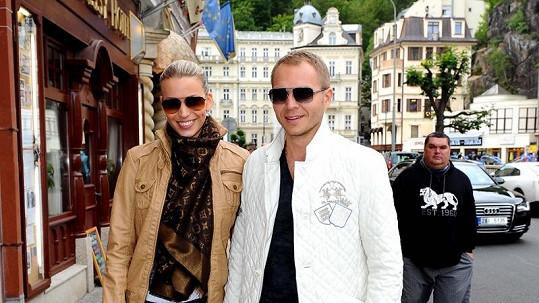 Milan Richter a Kristýna Lebedová jsou pyšnými rodiči.
