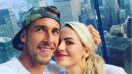 Lukáš Rosol a Petra Kubinová jsou krásný pár.
