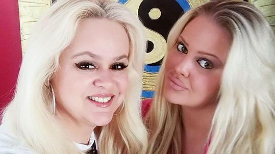 Monika Štiková se svou dcerou Charlotte