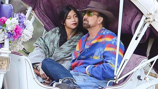 Nicolas Cage s manželkou Riko Shibatou