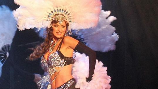 Kateřina Brožová na premiéře muzikálu Mata Hari