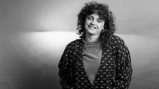 Lucie Bílá v roce 1986 na startu kariéry