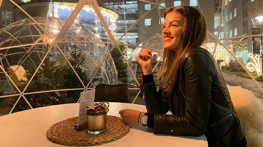 Adéla Částková se už na svátky těší.