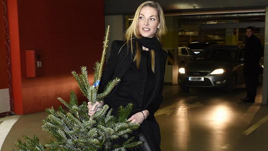 Modelka Pavlína Němcová se už začala připravovat na Štědrý den, bude to velké.