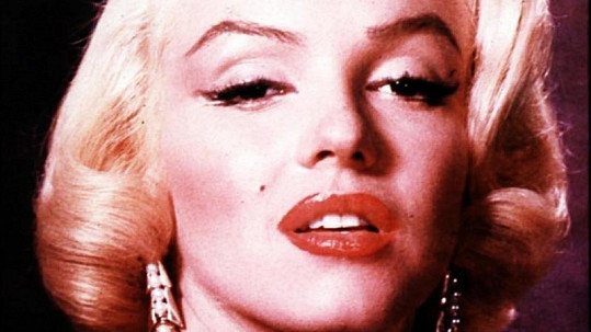 Legendární Marilyn Monroe.