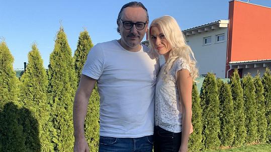 Marian Vojtko s přítelkyní Helenou