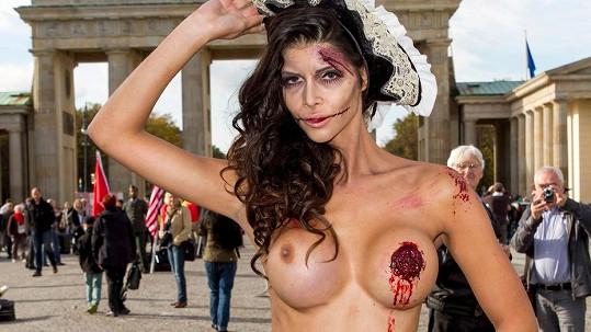 Micaela Schaefer šokovala Berlín.