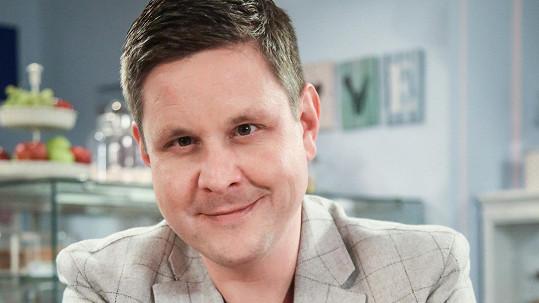 Michal Novotný si zahraje v dalším seriálu.