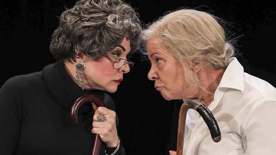Staré dámy aneb komedie se slzami na krajíčku.