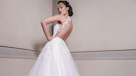 Monika bude jednou krásná nevěsta.