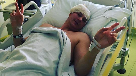 Petr Vlasák je po operaci