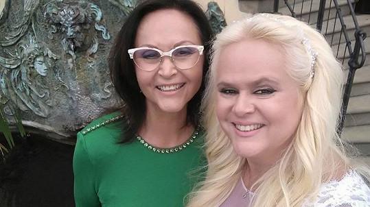 Monika Štiková s maminkou