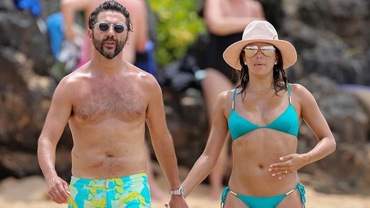 Eva Longoria s přítelem