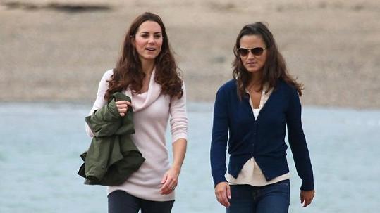 Sestry Kate a Pippa.