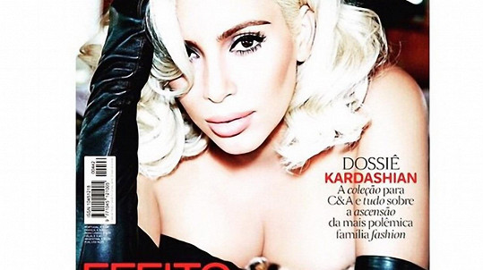Kim je hvězdou červnového vydání Vogue.