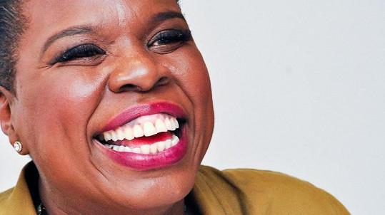 Leslie Jones se na sociální síti setkala s rasovou nesnášenlivostí.
