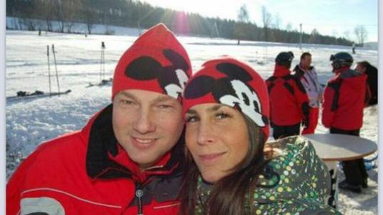 Vašek Benda s novou přítelkyní Kateřinou.