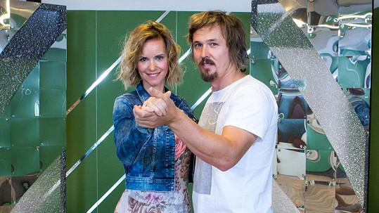 Ondřej Bank s Kamilou Tománkovou