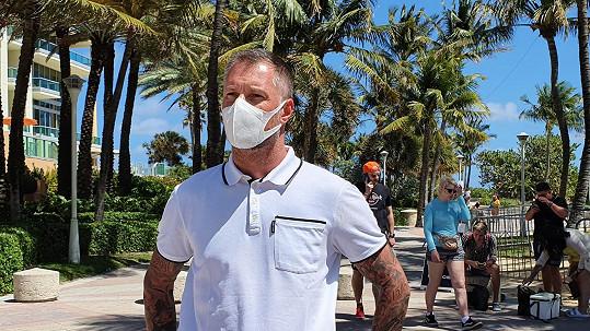 Petr Vágner je na Floridě.
