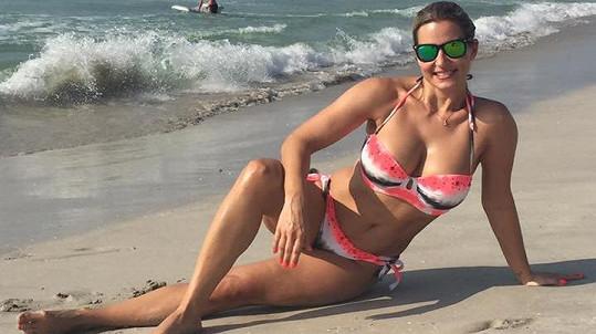 Monika Marešová je na dovolené v Ománu