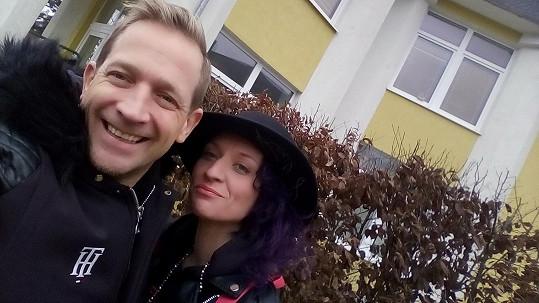 Martin Kocián s novou přítelkyní