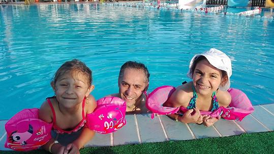 Vlasta Horváth s dcerami