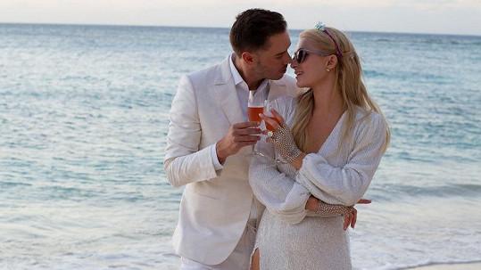 Paris Hilton se snoubencem Carterem Reumem