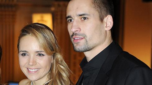 Lucie Vondráčková s Tomášem Plekancem