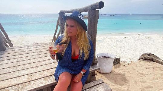 Návrhářka Alena Wilson je momentálně na Zanzibaru